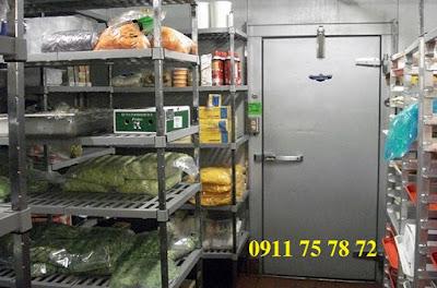 Thi công sửa chữa kho lạnh bảo quản thực phẩm