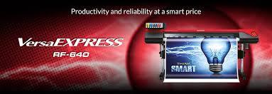 Roland RF640 baskı makinelerinde Türk Eco Solvent boyalar kullanılıyor..