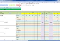 Aplikasi Kwitansi Sekolah Excel Deuniv
