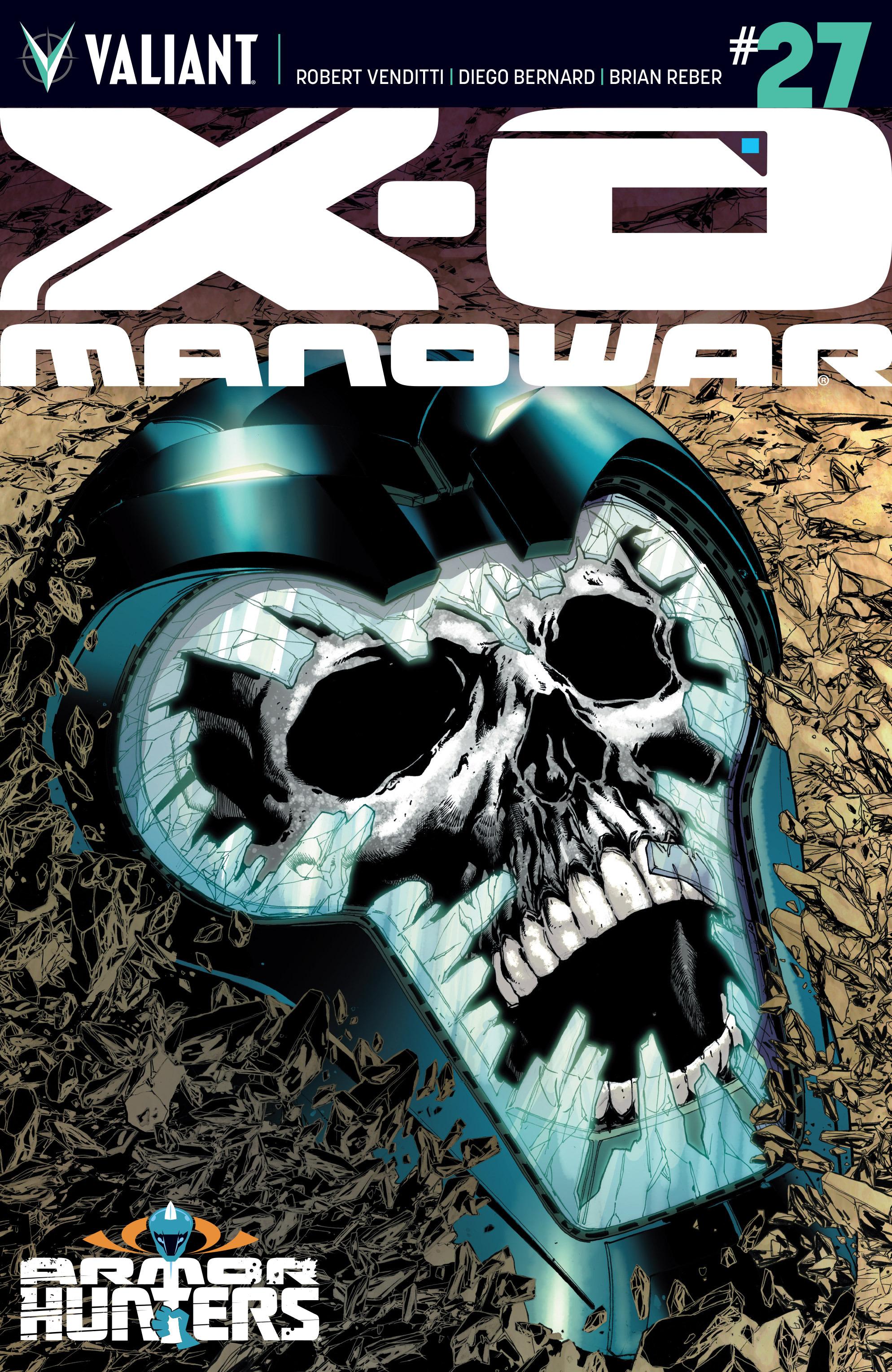 X-O Manowar (2012) 27 Page 1