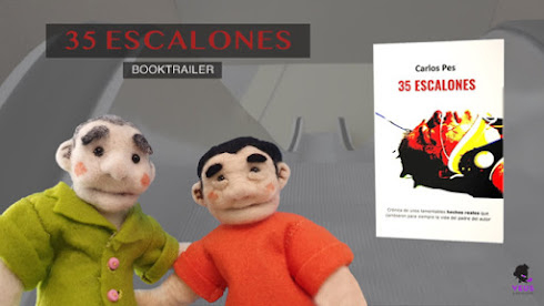 "BOOKTRAILER DEL LIBRO ""35 ESCALONES"" EN YOUTUBE"