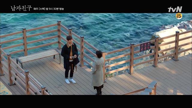韓劇-男朋友-第3集拍攝地-束草沿海步道-외옹치 바다향기로