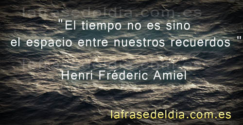 Frases de la vida Henri Frederic Amiel
