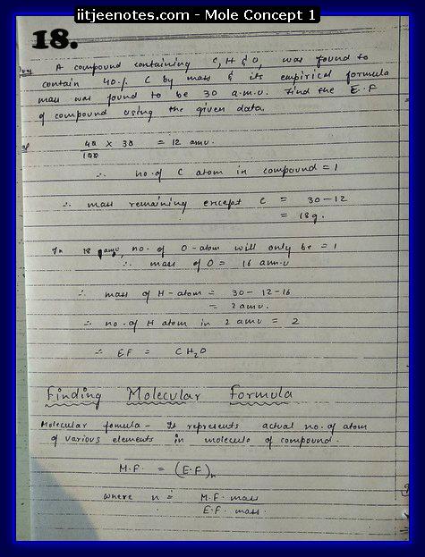 Mole Concept Notes2