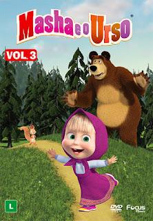 Masha e O Urso: Vol. 3 - DVDRip Dublado