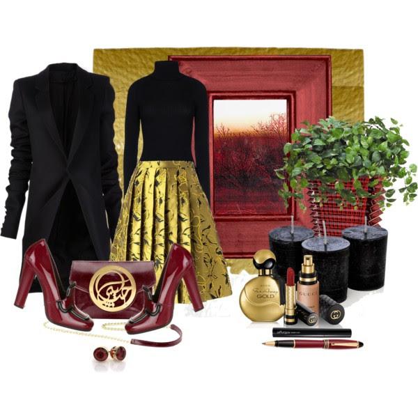 NEBOJTE SA VÝRAZNÝCH SUKNÍ_Katharine-fashion is beautiful_Zlatá sukňa_Katarína Jakubčová_Fashion blogger