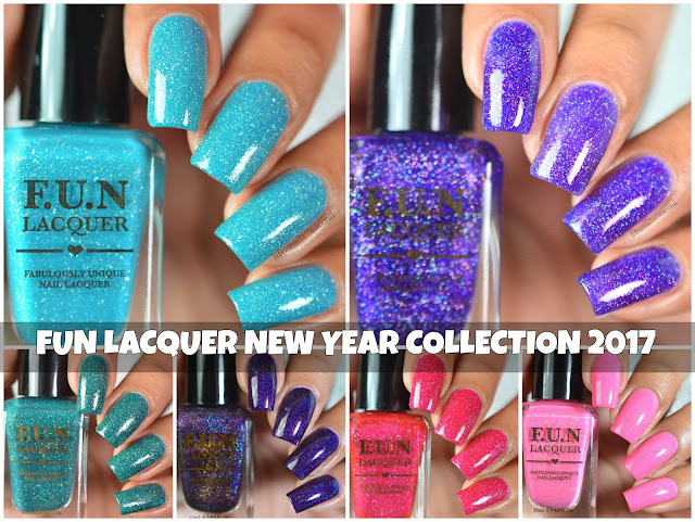 FUN LACQUER NEW YEAR 2017 COLLECTION