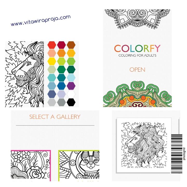 Snapshot Bulat Colorfy Dewasa Bisa Mewarnai Jelas Banget Kalo Aplikasi