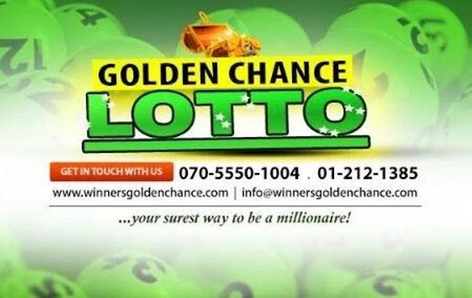 How To Play Golden Chance Lotto and check result