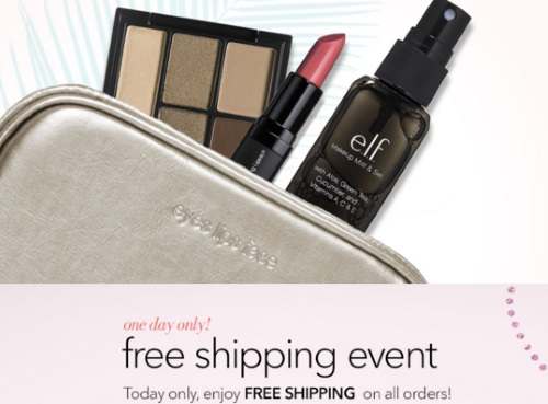 ELF Cosmetics Free Shipping Event + Free Gift Promo Code