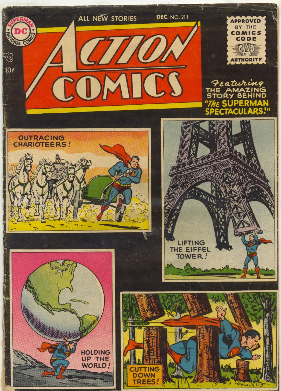 Action Comics (1938) 211 Page 1