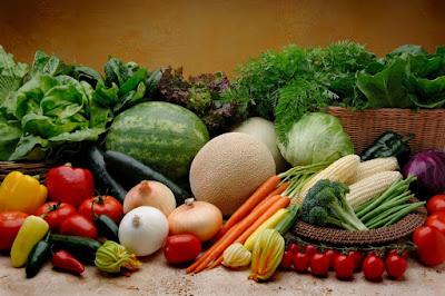 rau xanh hữu cơ