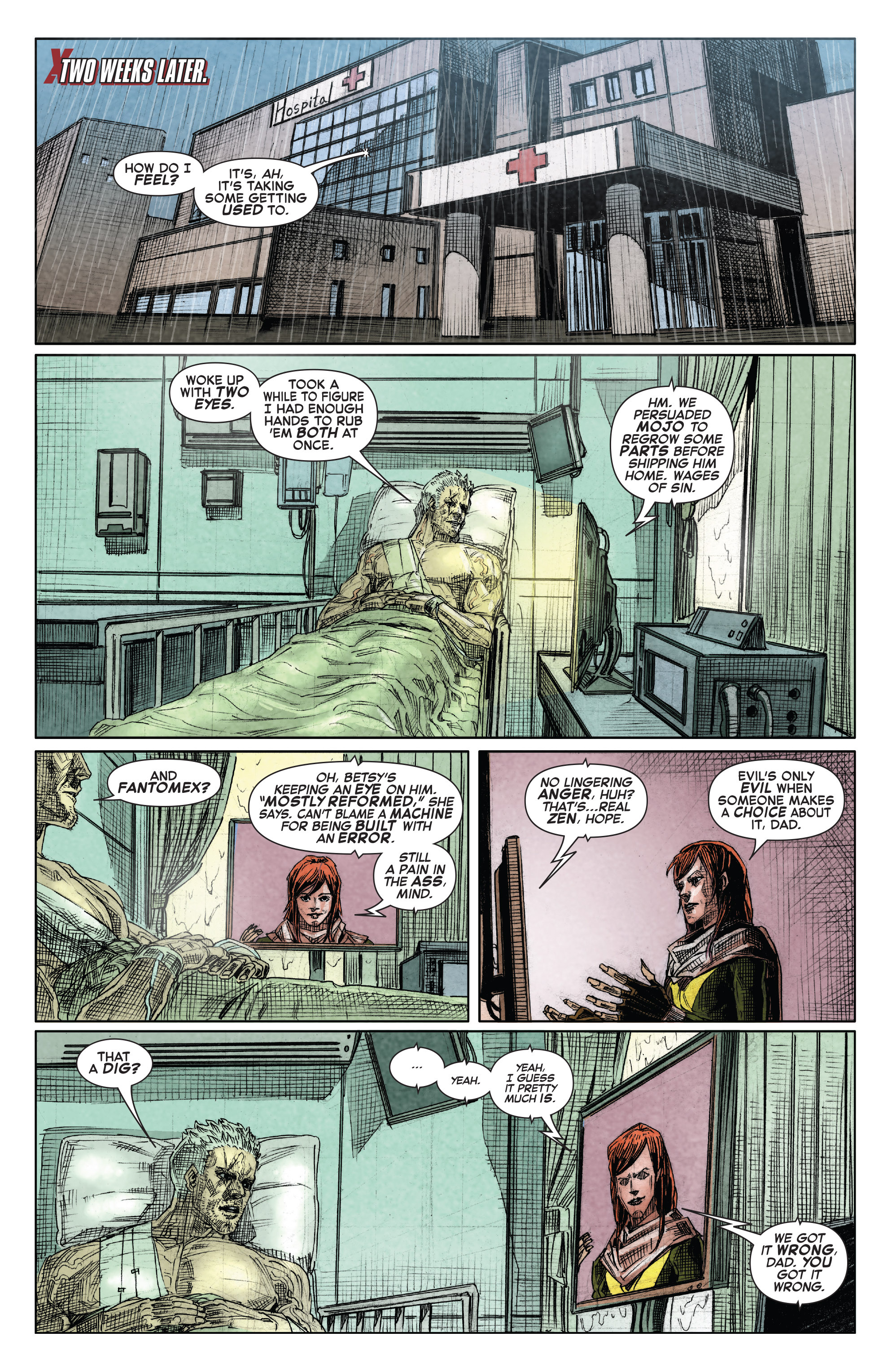 Read online X-Force (2014) comic -  Issue #15 - 20