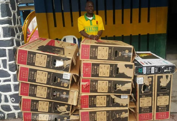 Sacked staff sells employer's TV sets at giveaway prices in Lagos
