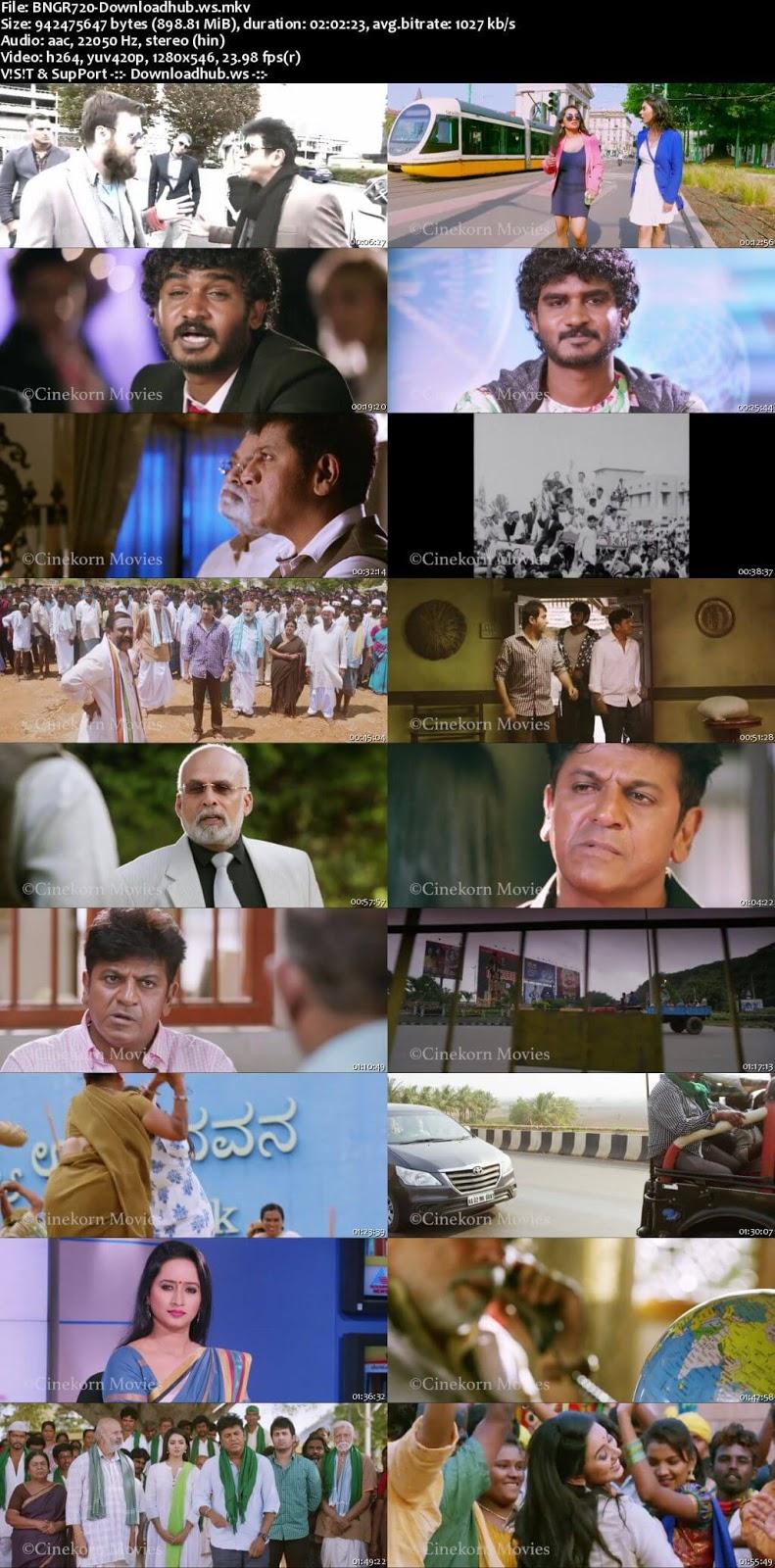Bangara s/o Bangarada Manushya 2018 Hindi Dubbed 720p
