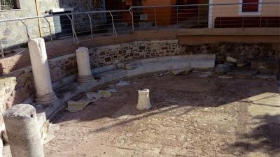 Λέσβος: Καταστροφές σε υστερορωμαϊκό οικοδόμημα