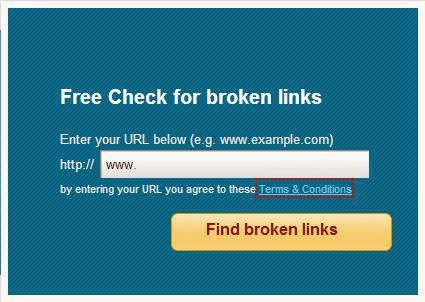 Free online broken link checker tool /websites for SEO and bloggers