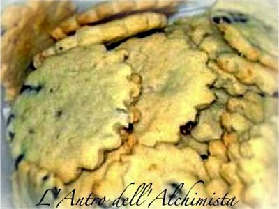 Biscotti Salati alle Olive e Parmigiano