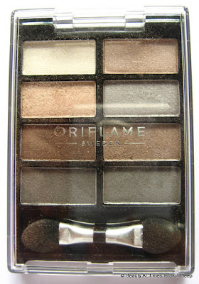 Oriflame Pure Colour Eyeshadow Palette Nudes & Grey