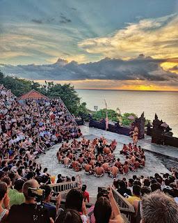 Kecak Fire Dance Uluwatu Bali