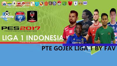 PES 2017 PTE 6.5.3 GoJek Liga 1 2019 by G-FAV