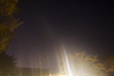 night lens flare