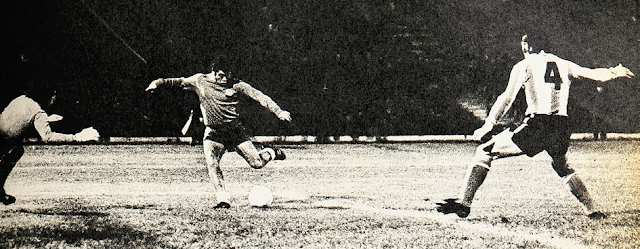 Chile y Argentina en Copa Carlos Dittborn 1972, partido de ida