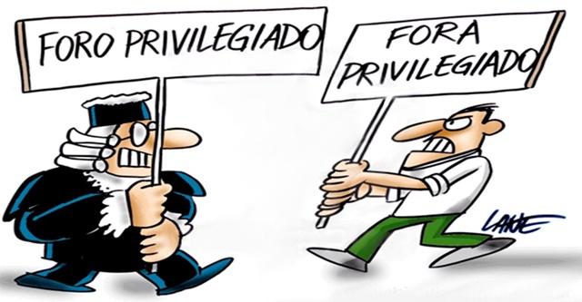 Resultado de imagem para justica brasileira foro privilegiado