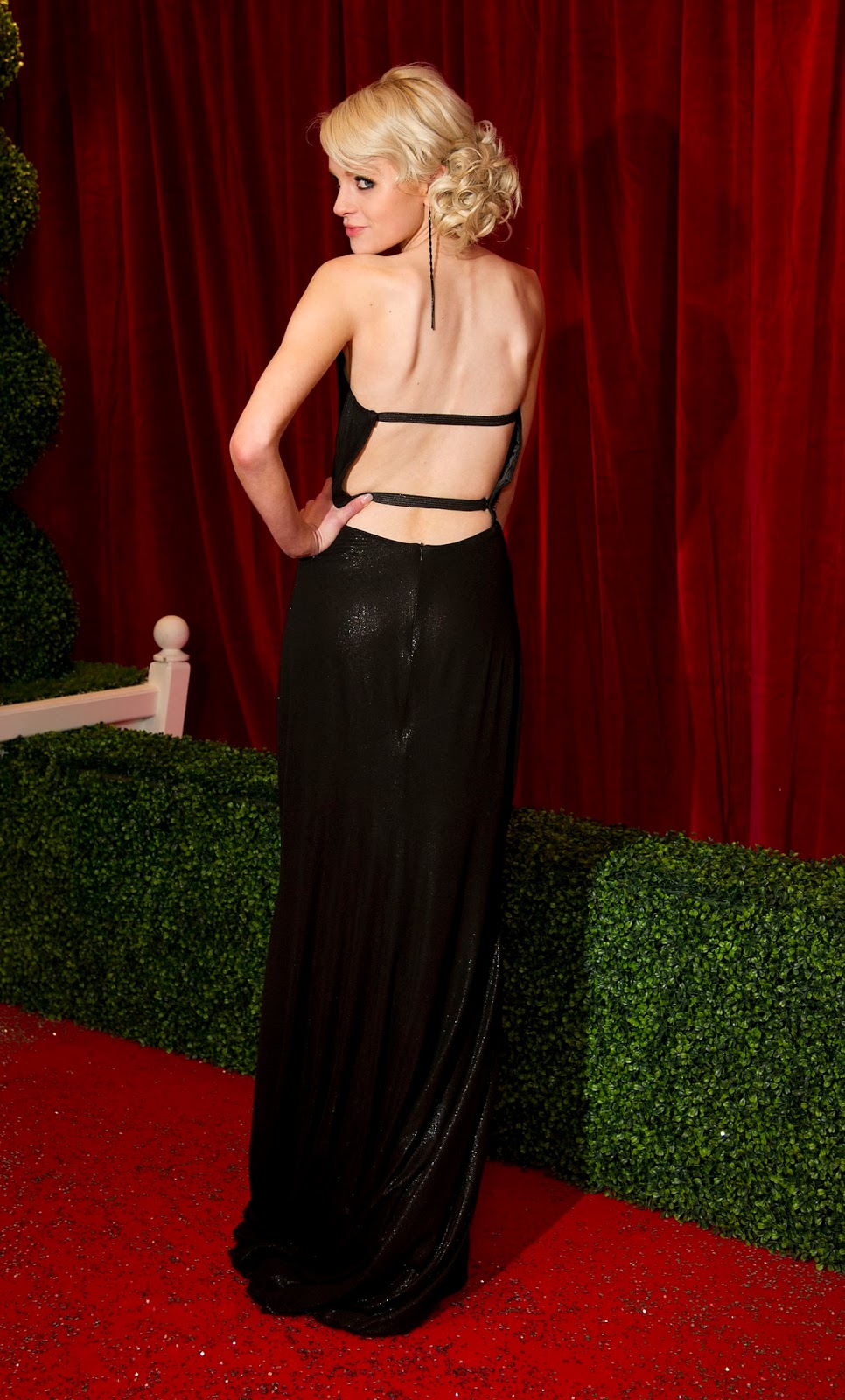 Hetti Bywater Cute HQ Photos at British Soap Awards 2012