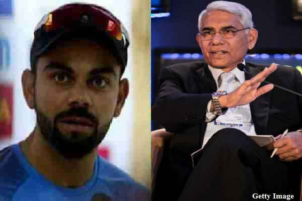 BCCI प्रेसिडेंट विनोद राय बोले 'विराट कोहली बॉस नहीं हैं, उनसे पूछकर नहीं रखा जाएगा कोच'