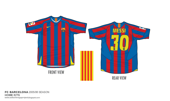 154aa9f4c82 Yesterday I m manage to finished the FC Barcelona 2005-06 season home kits  for the Barca Series collection. More detailed I m will posted soon.