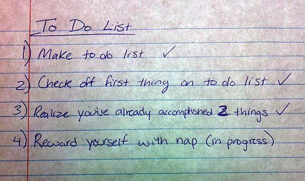 Funny To Do List Image