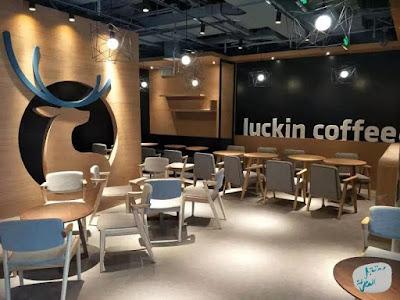 سلسلة متاجر القهوة الصينية Luckin Coffee المنافس المستقبلي لستاربكس
