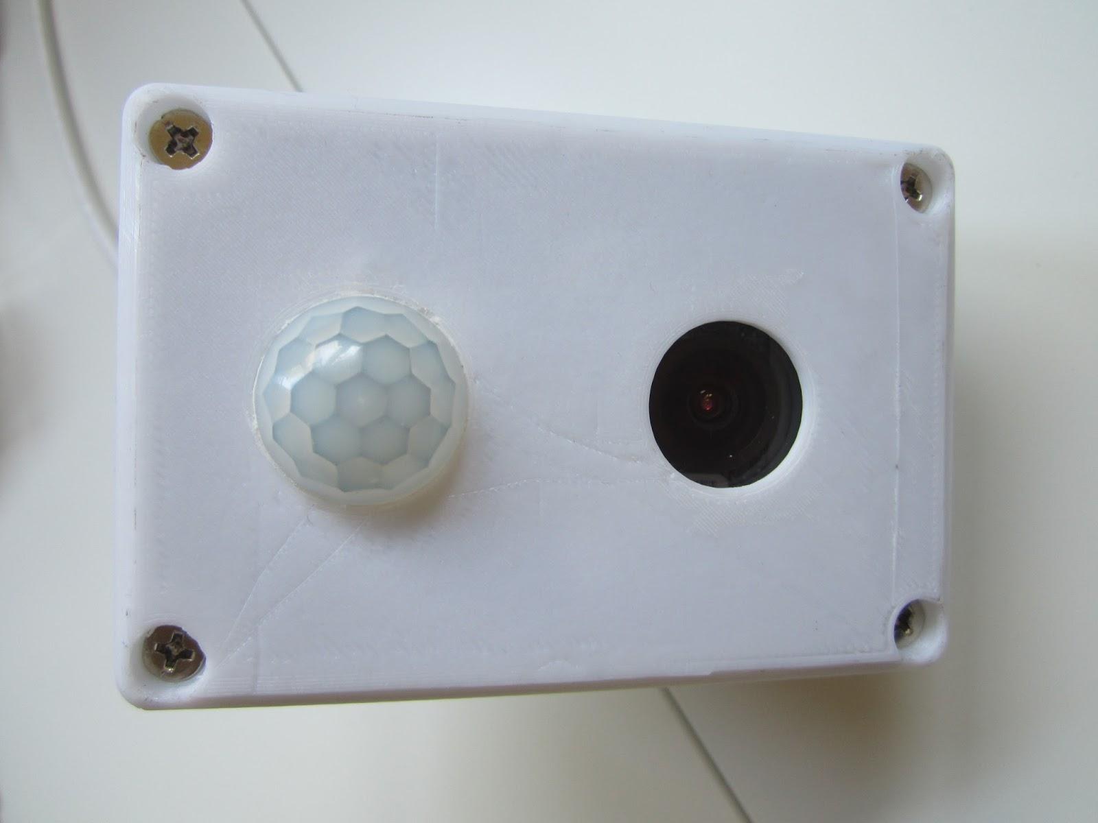 Mark4H: HI3518 Camera Module - Part 7 - Hi3518 and HC-SR501 PIR