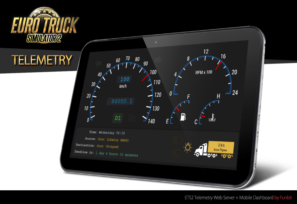 SCS Software's blog: A look on the technical side: Telemetry SDK