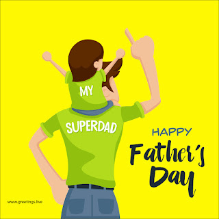 happy fathers day greetings image free download