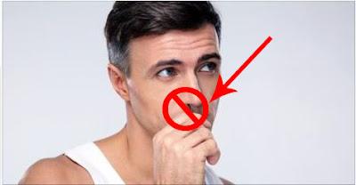 Anda Semua Tidak Boleh Mencabut Bulu Hidung, anda harus menghentikan kebiasaan buruk anda mencabut bulu hidung