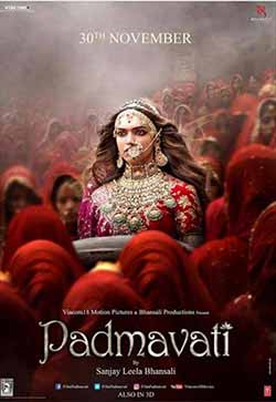 Padmaavat 2018 Hindi Movie Hindi Tamil BluRay 720p 1GB