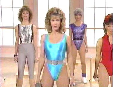 Best Exercises With The Ball: 80's Workout Apparel