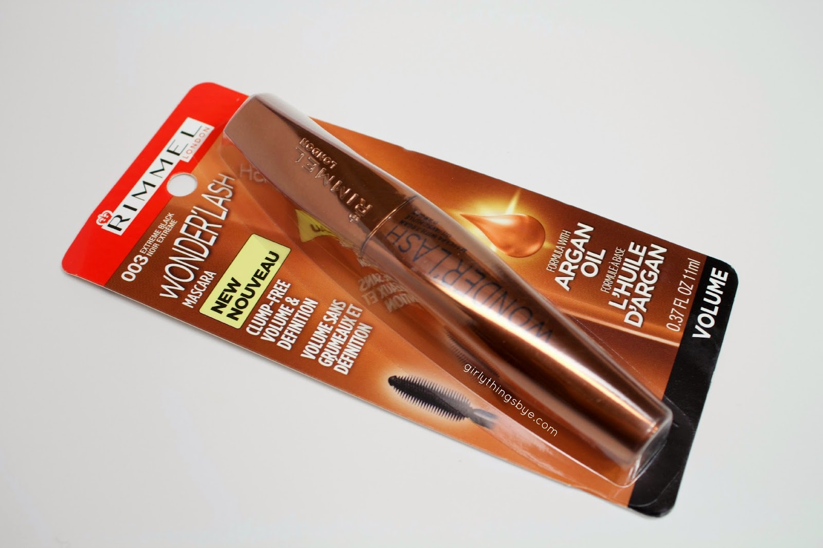 aa7092c2182 Review | Rimmel Wonder'Lash Mascara with Argan Oil ...