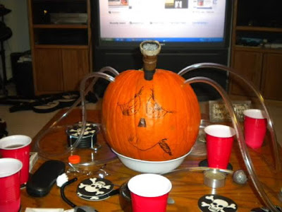Pumpkin Homemade Bong