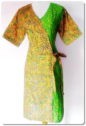 Model Baju Batik Terbaru Wanita Modern
