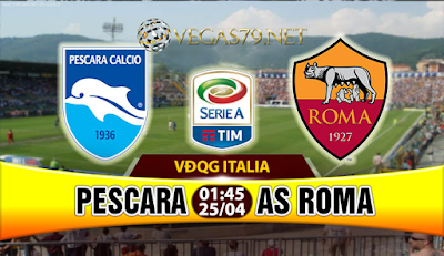 Nhận định, soi kèo nhà cái Pescara vs AS Roma