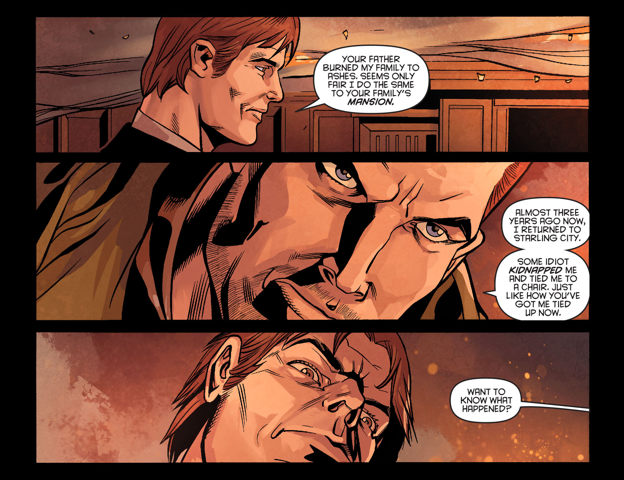 Read online Arrow: Season 2.5 [I] comic -  Issue #22 - 3