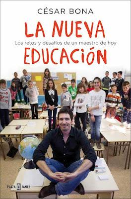 Portada del libro de César Bona La Nueva Educación