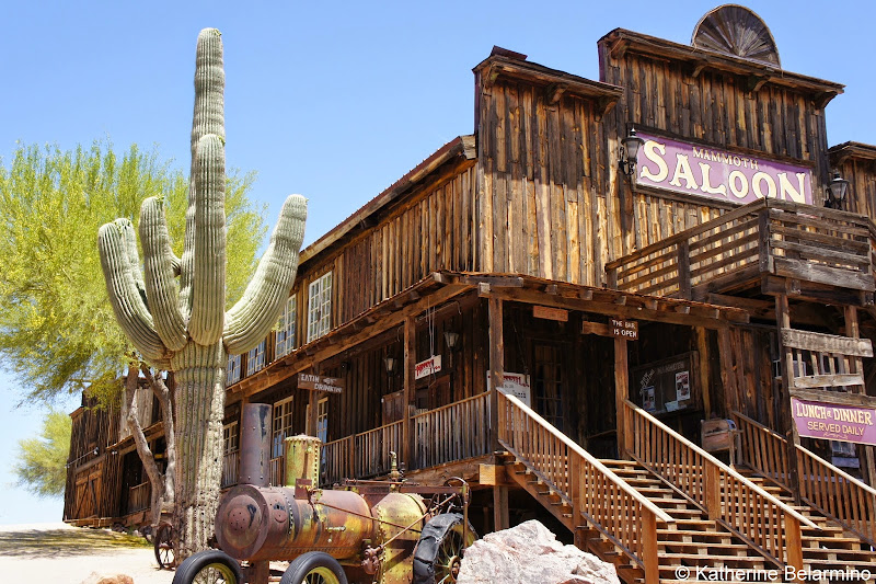 Goldfield Ghost Town Mammoth Saloon Apache Trail Arizona