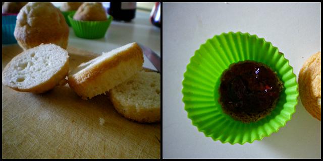 Cupcakes de tiramisú: Elaboración