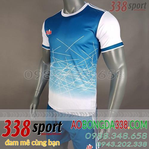 áo không logo xanh adidas aro