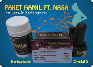 Paket Hamil PT NASA