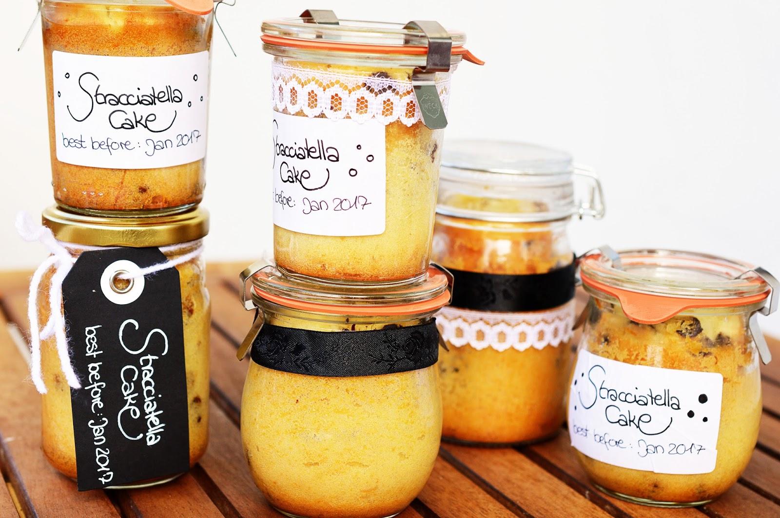 Stracciatella Cake in a Jar, Motte's Blog